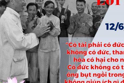 Tuyên truyền gớp phần thực hiện việc học tập và làm theo tư tưởng phong cách Hồ Chí Minh ( Kỷ niệm 73 năm ngày Bác Hồ ra lời kêu gọi thi đua yêu nước)