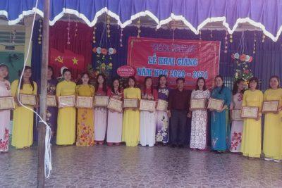 Trường Mẫu giáo Vĩnh   Phong Tổ chức Lễ Khai giảng 5/9/2020 Năm học: 2020-2021