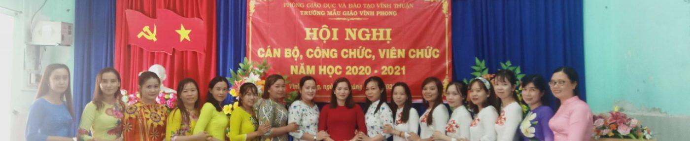 Giới thiệu Trường Mẫu giáo Vĩnh Phong