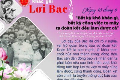 Tuyên truyền gớp phần thực hiện việc học tập và làm theo tư tưởng phong cách Hồ Chí Minh (Kỷ niệm 73 năm ngày Bác Hồ ra lời kêu gọi thi đua yêu nước)